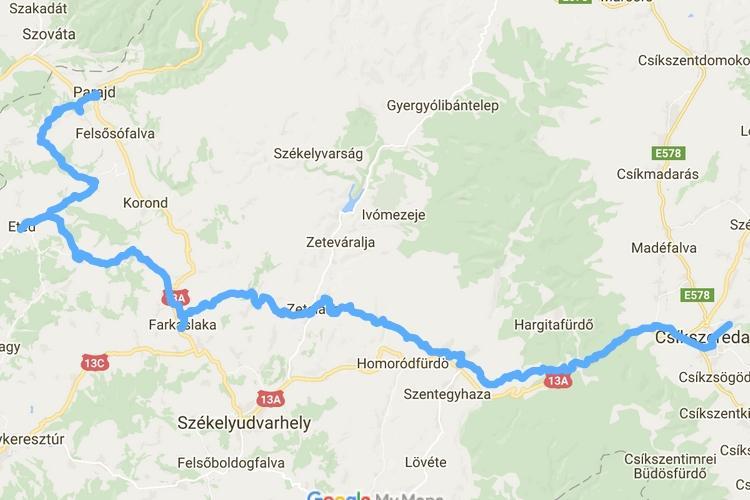 farkaslaka térkép Az utolsó 100 km   Az utolsó 100 km